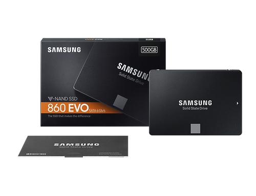 SAMSUNG SSD 860 EVO 500GB 2.5inch SATA SSD disks