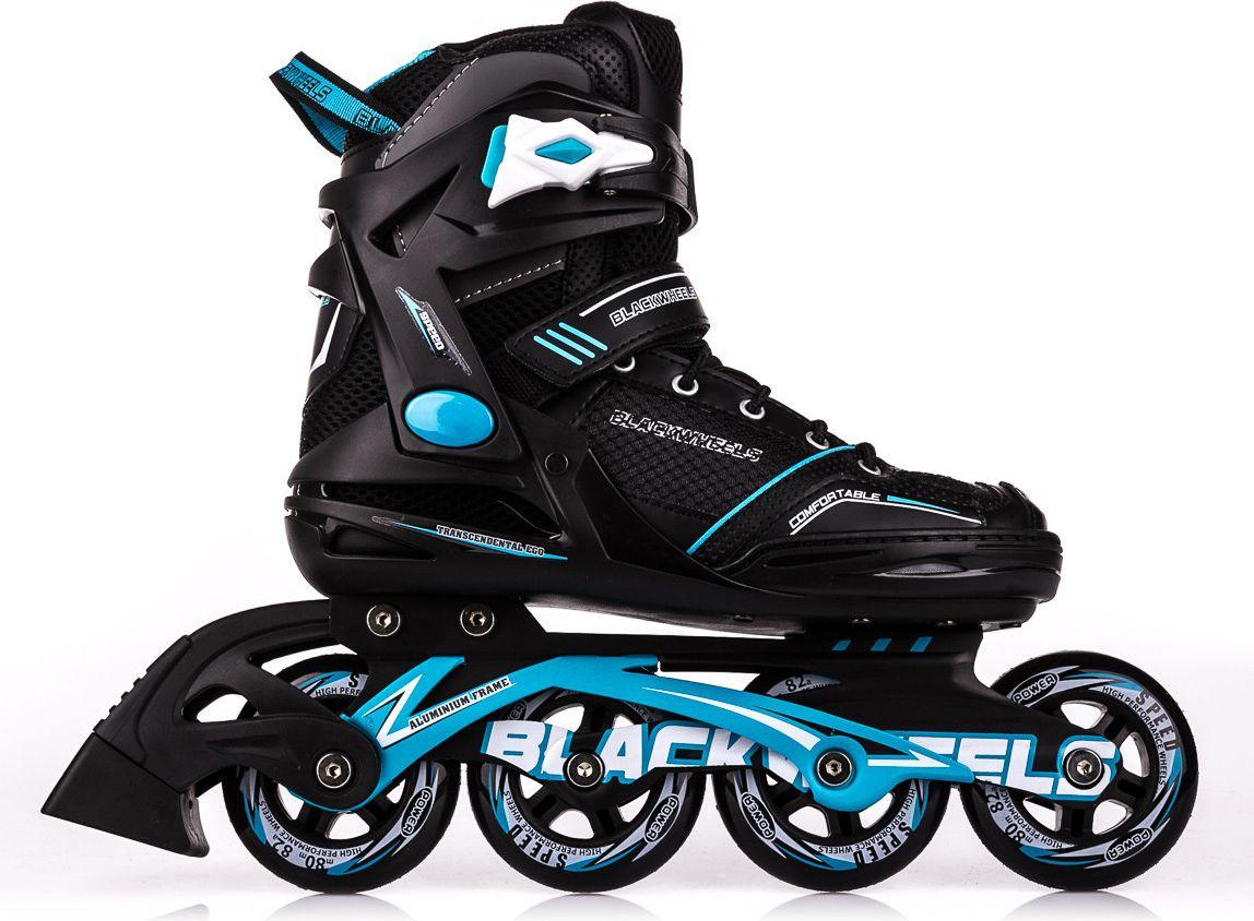 Blackwheels Rollerblades Slalom black-blue 39 Skrituļslidas