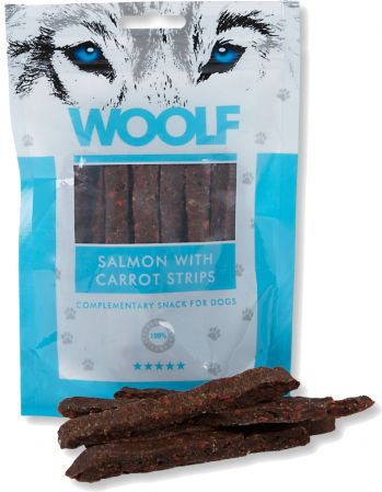 Brit WOOLF 100g SALMON WITH CARROT VAT003203