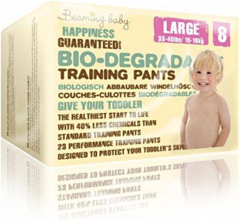 Beaming Baby PANTS jednorazowe biodegradowalne pieluchomajtki, L, 23 szt. (BMN07601) BMN07601