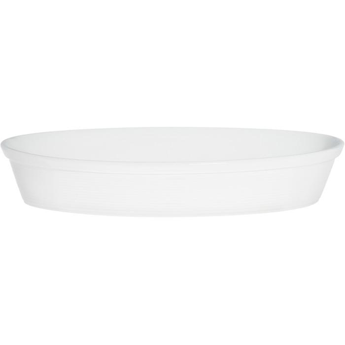 Cepamtrauks Maku ovals 3l 36cm porcelana balts max 250C 316203 Pannas un katli