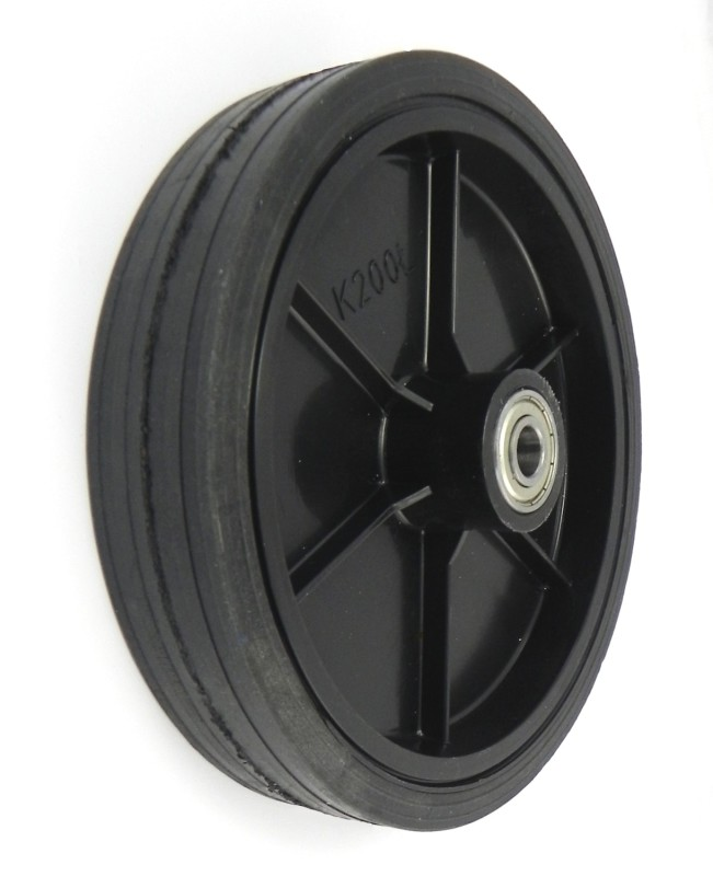 Zabi Plastic wheel for hand mowers 200mm Ķerra