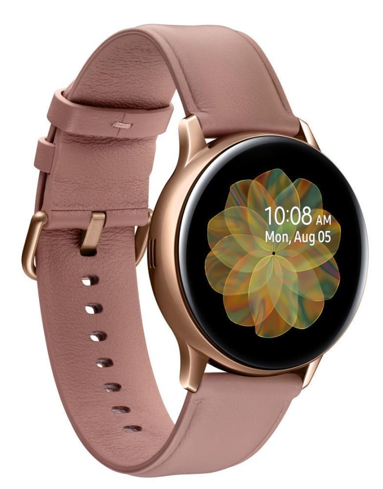 Samsung Galaxy Watch Active2 Aluminum 40mm LTE Pink Gold Viedais pulkstenis, smartwatch