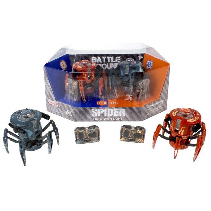 HEXBUG Laser robot startup. Spider 2-pack 409-5122