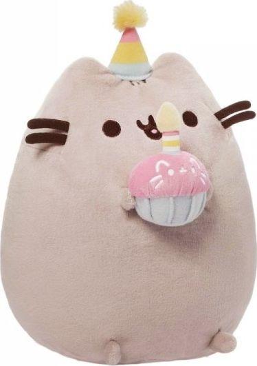 Gund Mascot PUSHEEN Birthday 27 cm