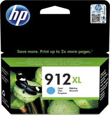 HP 912XL High Yield Cyan Ink