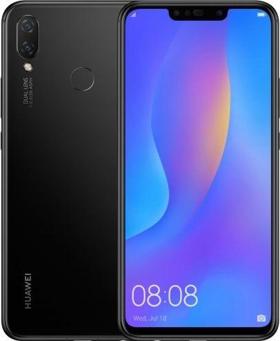 Smartfon Huawei P Smart Plus 2019 64 GB Dual SIM Czarny  (40-39-9101) 40-39-9101 Mobilais Telefons