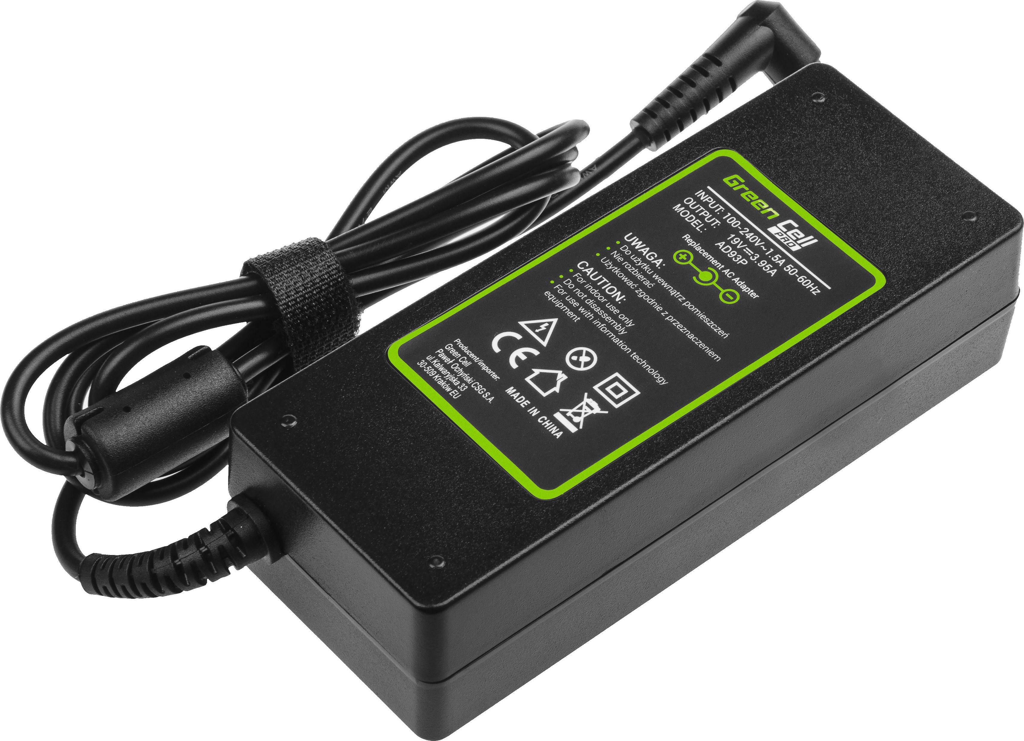 Green Cell PRO 19V 3.95A 75W do Acer Aspire 5220 5315 5520 5620 5738G 7520 7720 Baterija