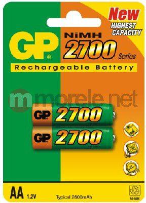 GP Battery ReCyko + AA / R6 2700mAh 2 pcs. Baterija