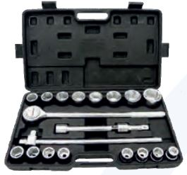 Geko Socket wrench set 3/4