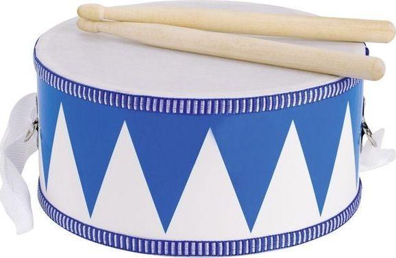 Goki White and blue drum