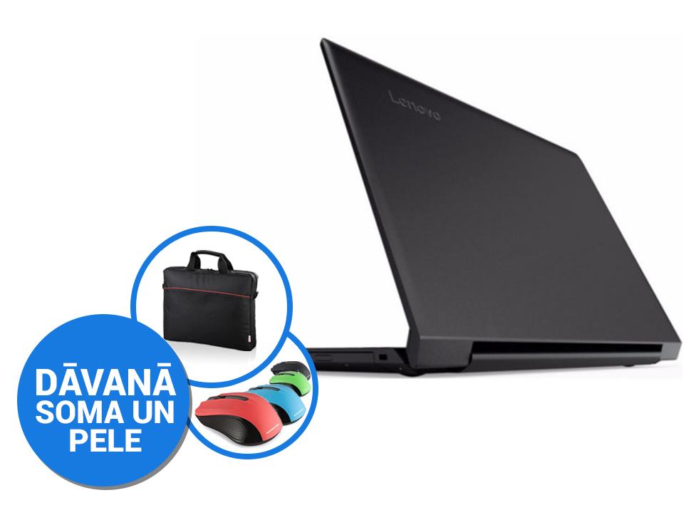 """Lenovo IdeaPad V110-15IKB 15""""FHD/4415U/4GB/256GB SSD/DVD/Win10 (soma, pele) Portatīvais dators"""