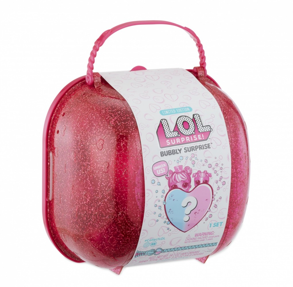 MGA LOL L.O.L Surprise Bubbly Surprise (Pink) with Exclusive Doll and Pet bērnu rotaļlieta