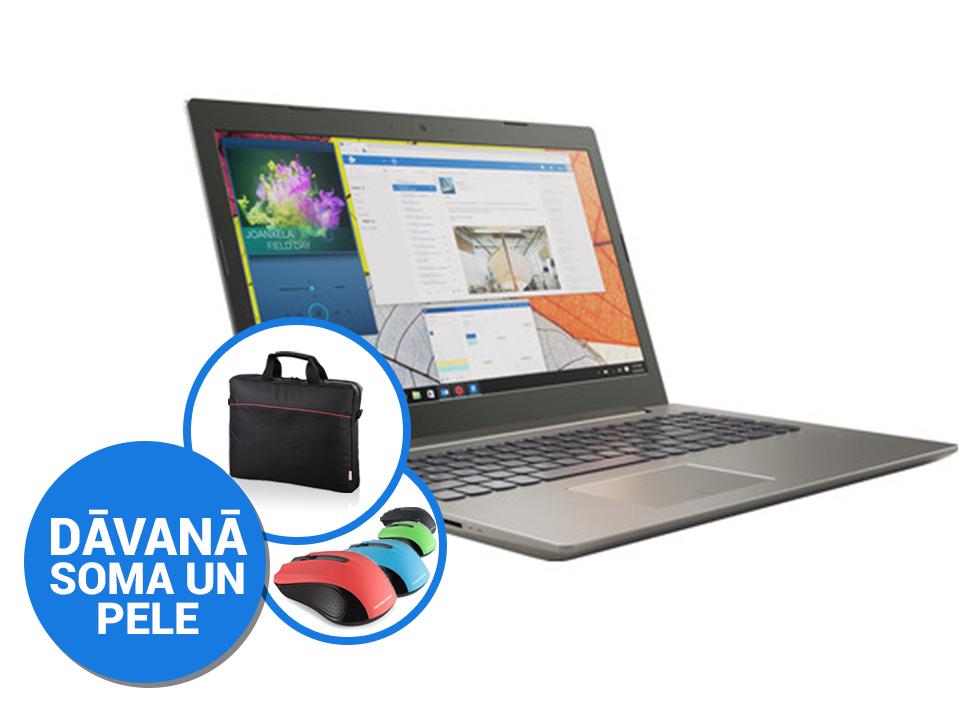 """Lenovo IdeaPad 520-15IKB 15""""FHD/i7-8550U/8GB/256GB SSD/Win10 (soma, pele) Portatīvais dators"""