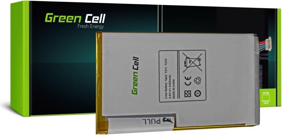 Green Cell Tablet Battery for Samsung Galaxy Tab 3 8.0 T310 T311 akumulators, baterija mobilajam telefonam