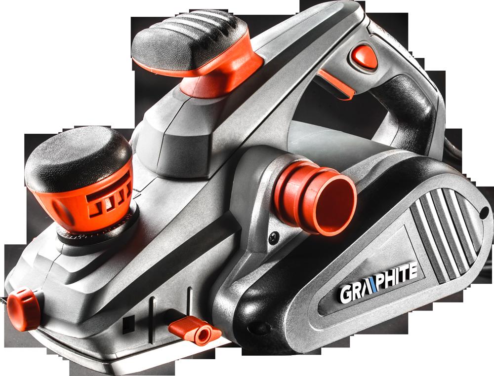 Graphite Strug elektryczny 1300W szerokosc strugania 110mm (59G680) 59G680