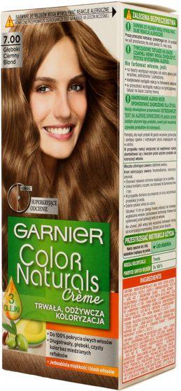 Garnier Color Naturals Krem koloryzujacy nr 7.00 Gleboki Ciemny Blond 0357523