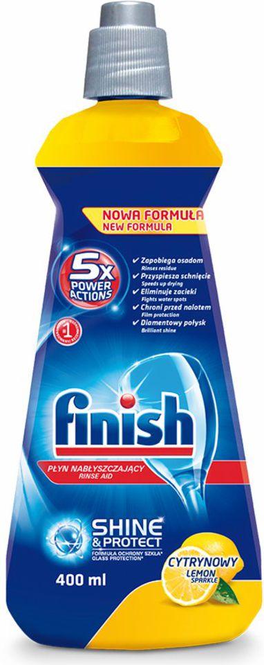 Finish Nablyszczacz cytrynowy 400ml (22701650) 22701650 tīrīšanas līdzeklis