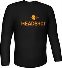 GamersWear HEADSHOT Longsleeve Black (XXL) spēle