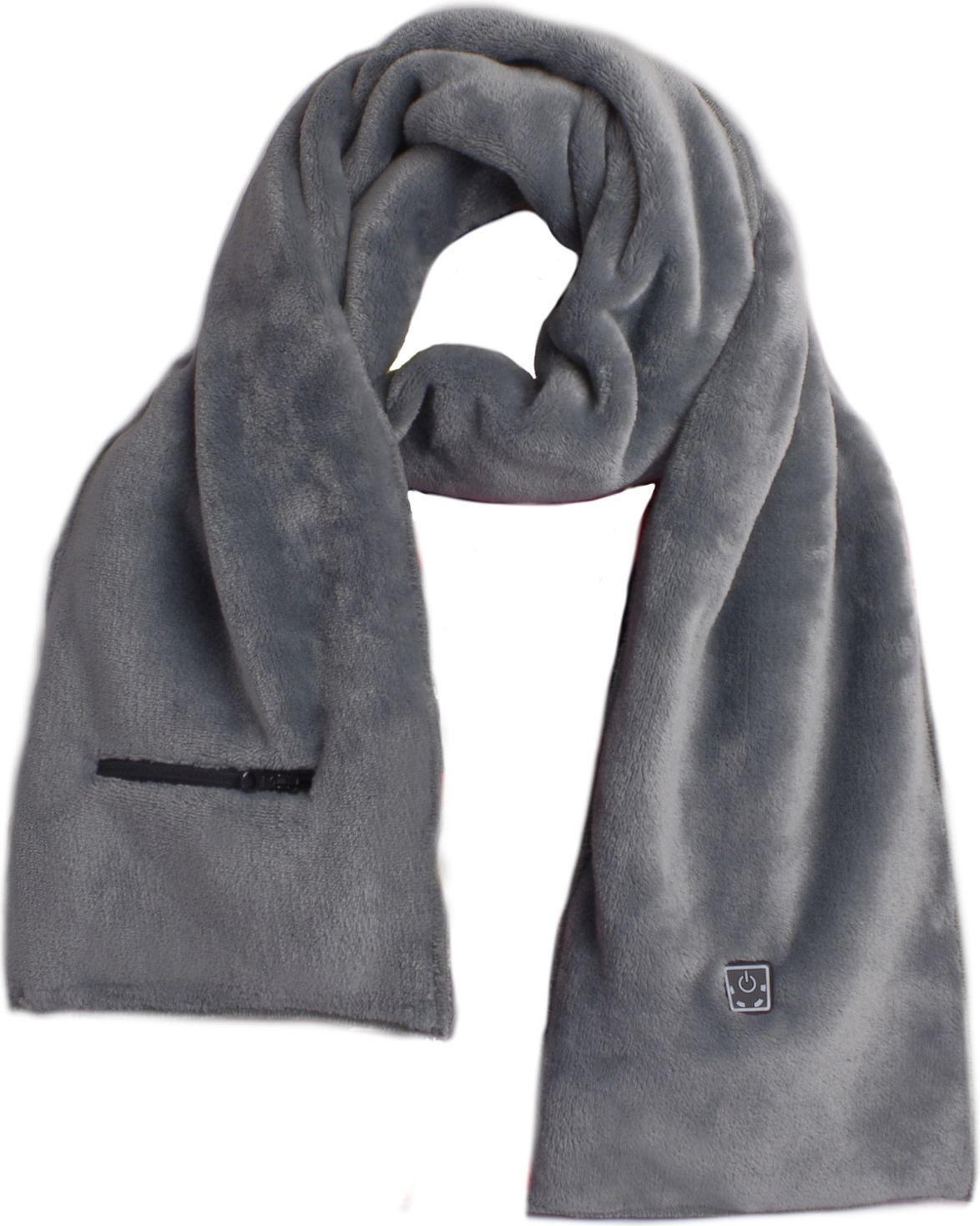 Glovii szalik ogrzewany - gray Sporta aksesuāri