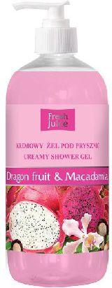 Fresh Juice Zel pod prysznic kremowy Smoczy Owoc i Macadamia 500ml - 812753 812753