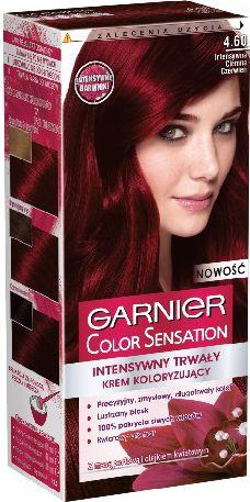 Garnier Color Sensation Krem koloryzujacy 4.60 Red Brown- Intensywna ciemna czerwien 0341033
