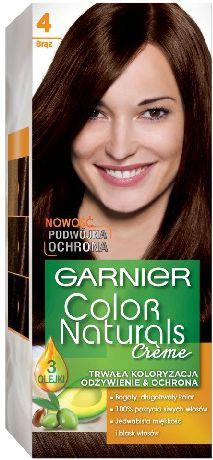 Garnier Garnier Color Naturals Krem koloryzujacy nr 4 Braz 1op - 0305392 0305392