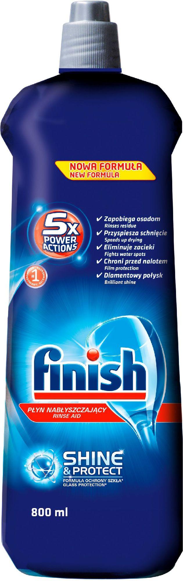 Finish Plyn nablyszczajacy 800ml (86609435) 86609435 tīrīšanas līdzeklis