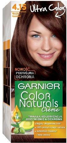 Garnier Color Naturals Krem koloryzujacy nr 4.15 Mrozny Kasztan 0339110