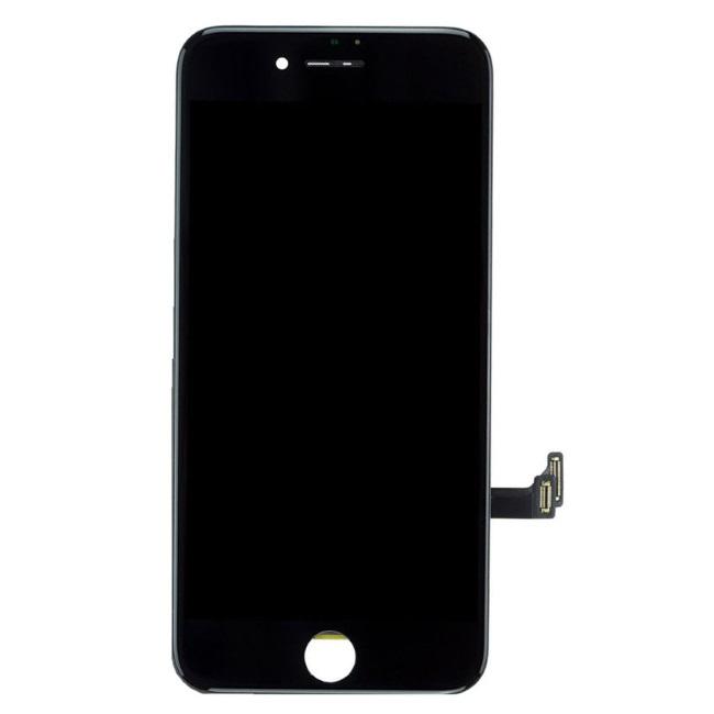 HQ Analogs LCD Displejs + Skarienjūtīgais ekrāna elements priekš iPhone 7 Plus (5.5inch) Pilns modulis A+ kvalitāte Melns aksesuārs mobilajiem telefoniem