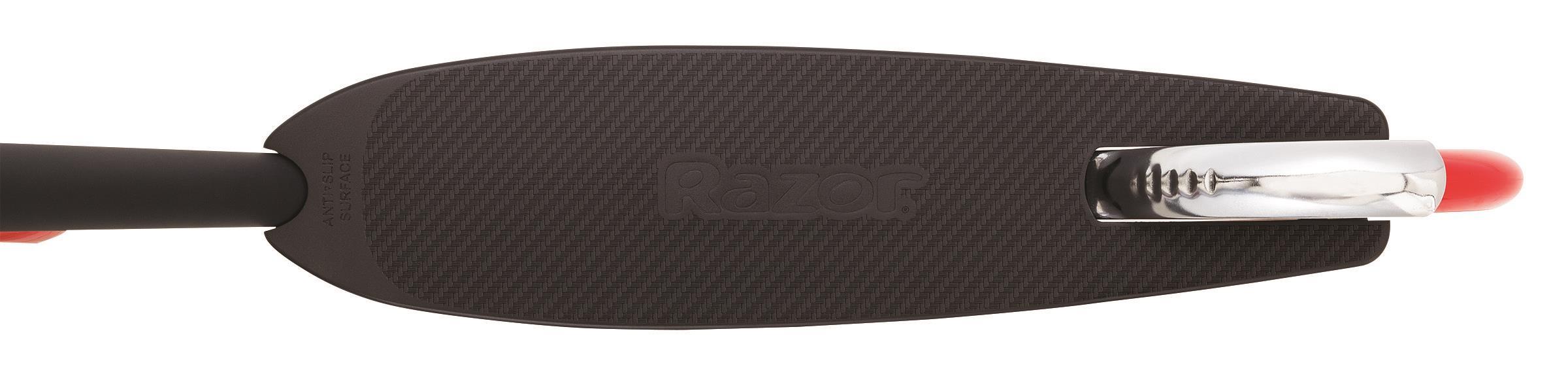 Razor Carbon Lux Scooter - Black/Red Elektriskie skuteri un līdzsvara dēļi