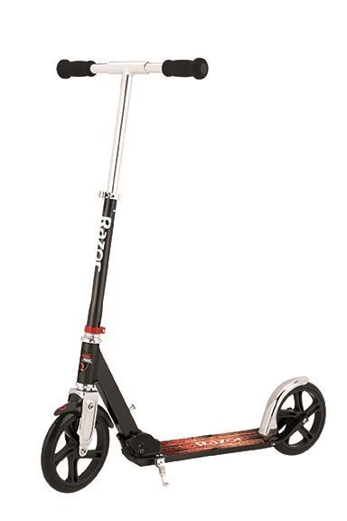 Razor A5 Lux Scooter - Authentic Black Label Elektriskie skuteri un līdzsvara dēļi