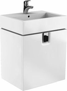 KOLO Twins 60cm white washbasin cabinet (89498-000)