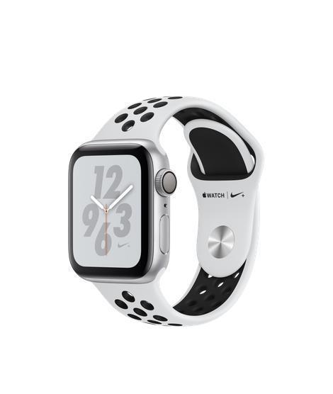 Apple Watch Nike+ Series 4 GPS 40mm Silver Alu Nike Band Viedais pulkstenis, smartwatch