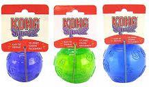 KONG Squeezz Medium Ball 6cm [pcs] - PSB2E aksesuārs suņiem