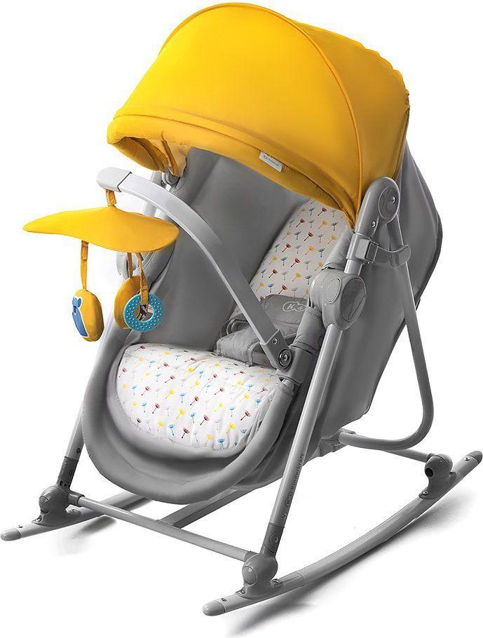 Kinderkraft Bouncer 5w1 Unimo Yellow šūpuļkrēsls