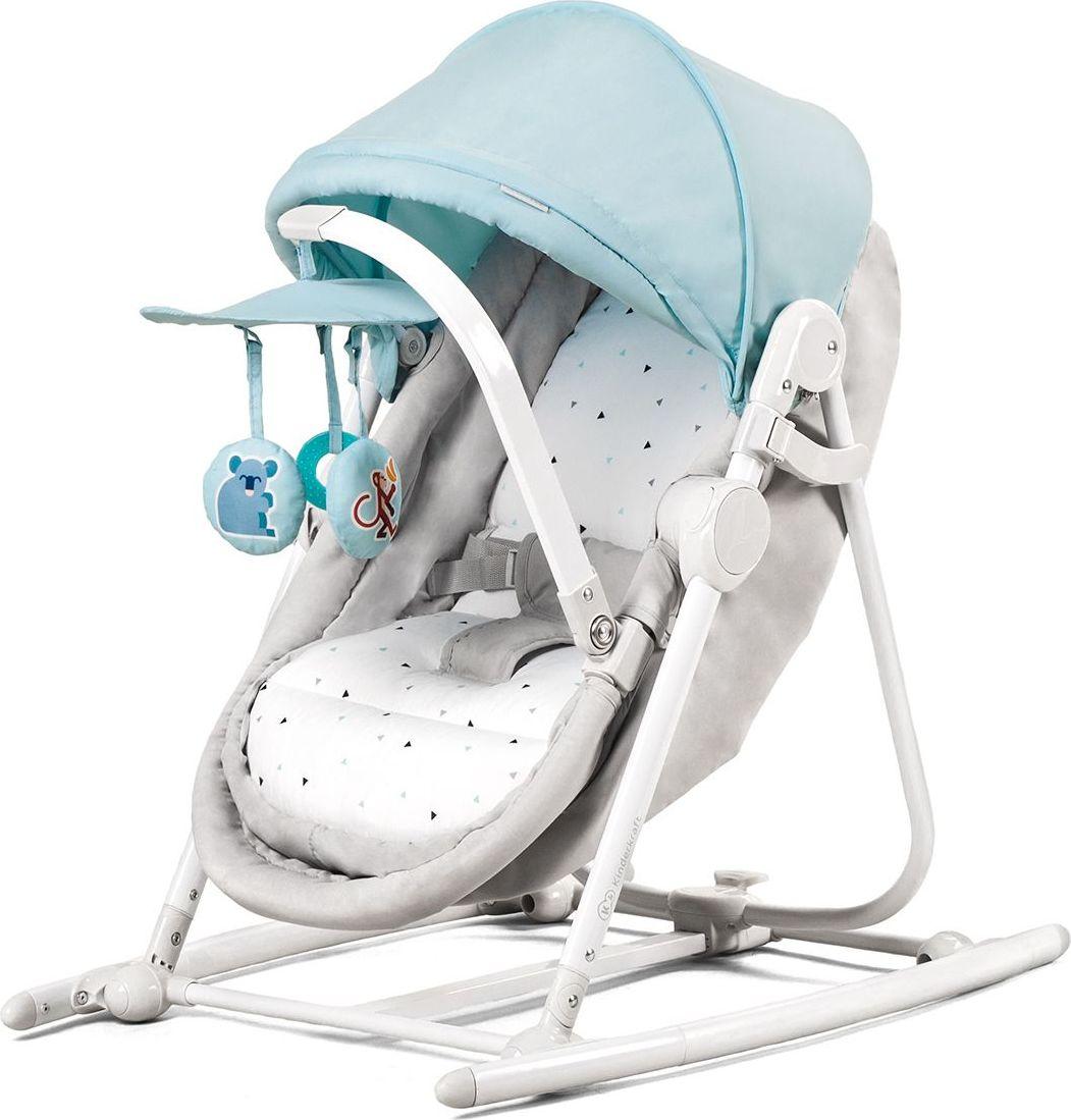 Bouncer 5w1 Unimo Light Blue šūpuļkrēsls