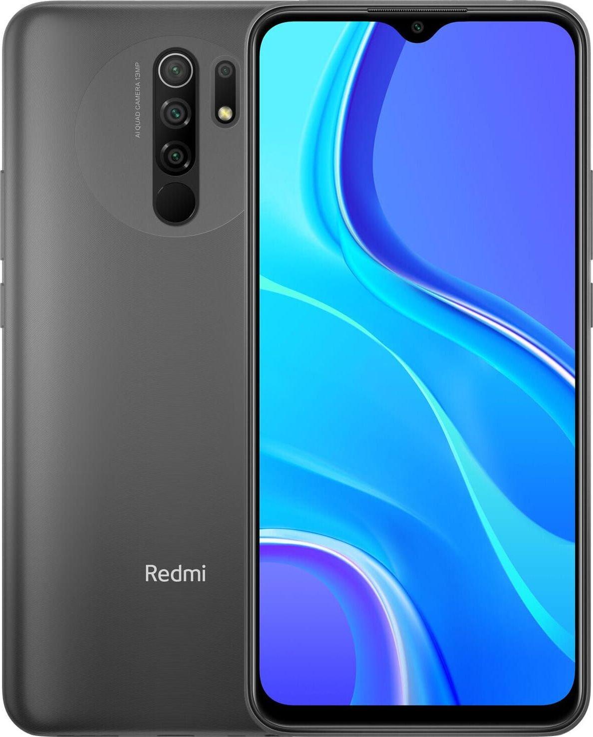 Smartfon Xiaomi Redmi 9 4/64GB Dual SIM Szary (28428) xiaomi_20200630162611 Mobilais Telefons