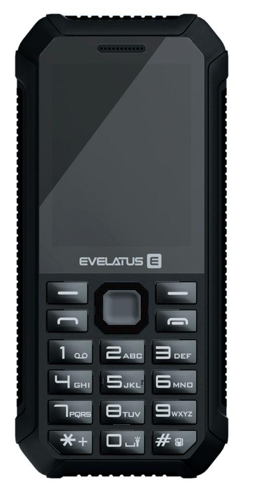 Evelatus Samson Dual Sim Black (LAT, RUS, ENG) Mobilais Telefons