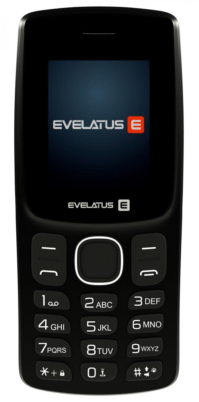 Evelatus EASY01 (EE01)  Black (LV) Mobilais Telefons