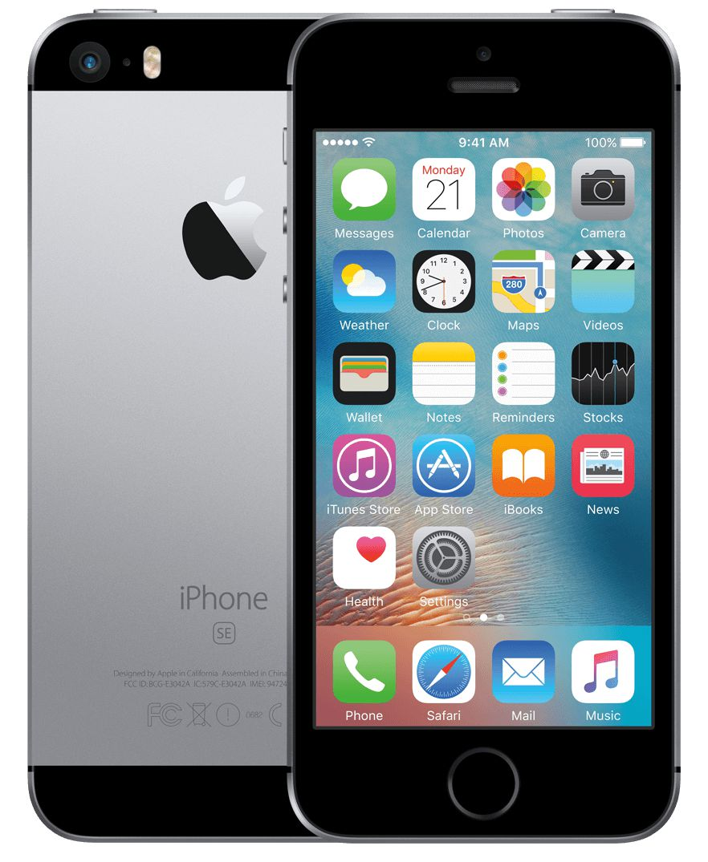Apple  iPhone SE 32GB B Used Space Gray (lietots, garantija 3 mēneši) Mobilais Telefons