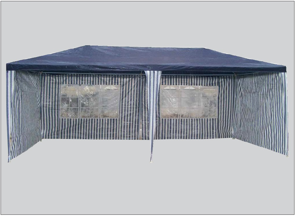 BESK Darza nojume 3x6m ar sieninam Nojume