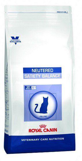 Royal Canin Veterinary Care Nutrition Neutered Satiety Balance 1.5kg kaķu barība