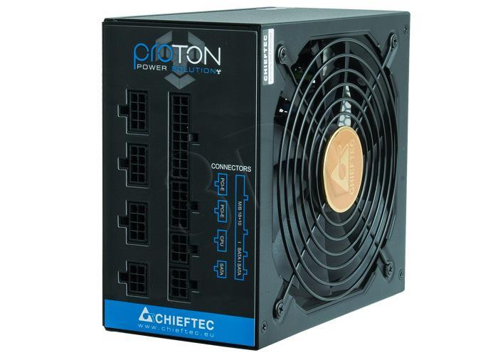 Chieftec ATX PSU BDF-850C, 850W, 80 Plus Bronze Barošanas bloks, PSU