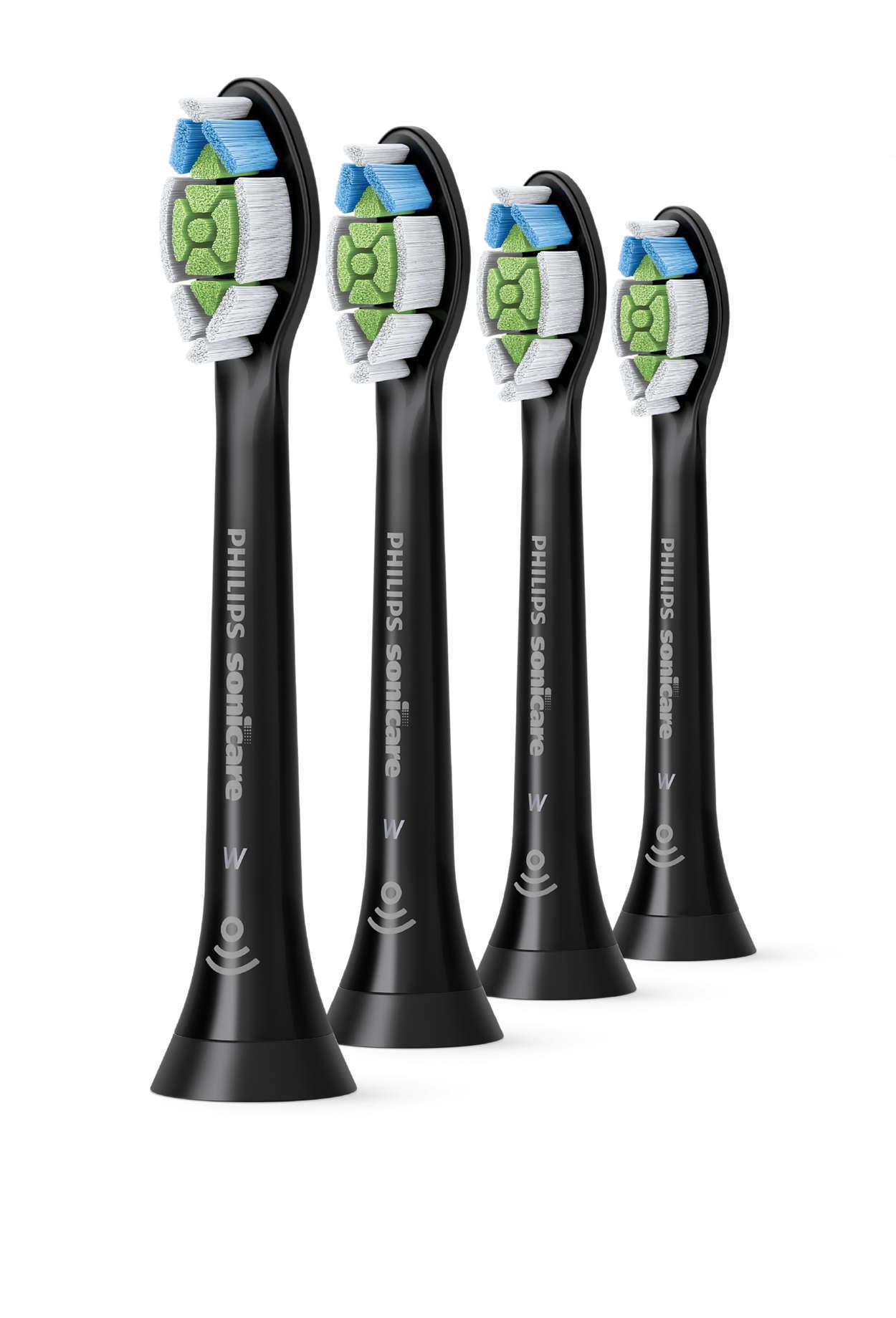 Philips Sonicare W2 Optimal White  standarta zobu birstes galviņas (4 gab) HX6064/11 mutes higiēnai