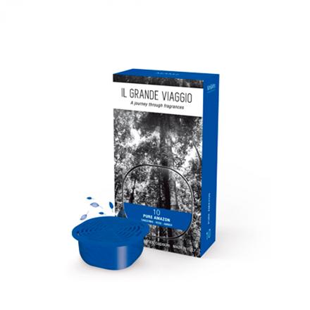 Mr&Mrs IL GRANDE VIAGGIO Pure Amazon Scented ambience capsule, Wood-Citrus 8051277331603