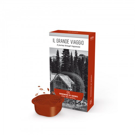 Mr&Mrs IL GRANDE VIAGGIO Rosewood of Quebec Scented ambience capsule, Spicy-Woody 8051277331597