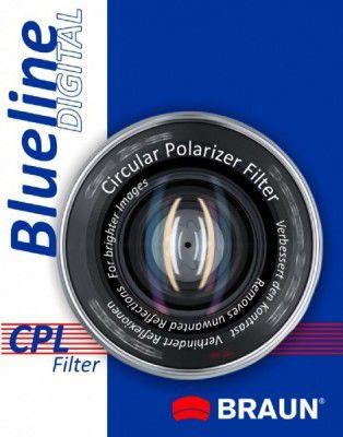 Filtr Braun Phototechnik Filtr foto Blueline CPL (52mm blucpl52) UV Filtrs