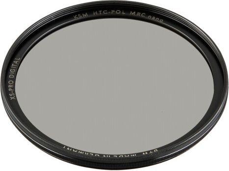 B+W XS-Pro Digital HTC Zirkularpolfilter Kasemann MRC nano 67 foto objektīvu blende