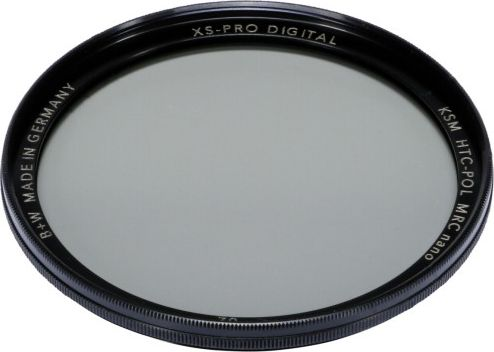 B+W XS-Pro Digital HTC Zirkularpolfilter Kasemann MRC nano 62 foto objektīvu blende